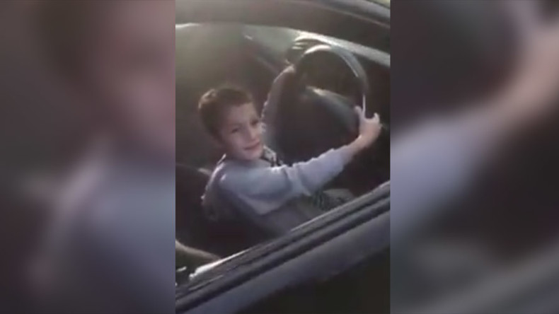 Police seize car after 5yo filmed doing burnout with dad watching on (VIDEO)