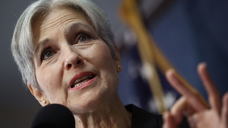 3rd party candidate Jill Stein responds to Clinton-Trump duel in real time
