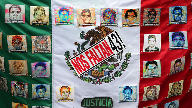2nd anniversary of Mexico student massacre commemorated with protests
