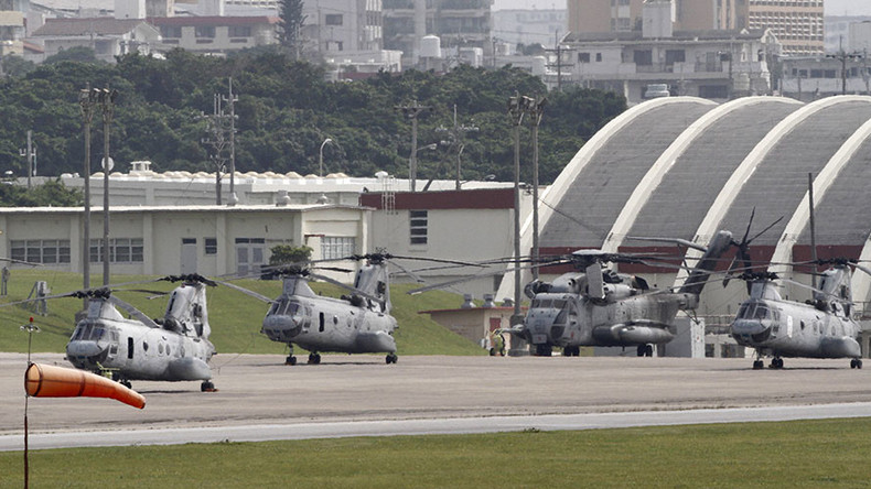 Okinawa villagers sue authorities for construction of 'unlivably loud' US helipads
