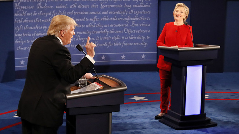Shimmies, sniffles & shout downs: #DebateNight in tweets