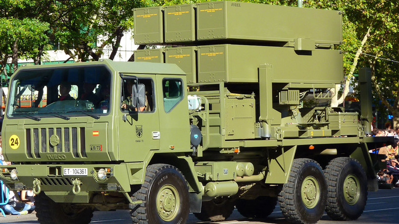 Lithuania aims to spend $115m on air-defense system amid NATO build-up in Eastern Europe