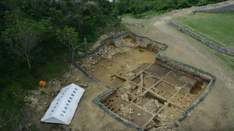 Archaeologists baffled as Roman coins discovered in ruins of Japanese castle
