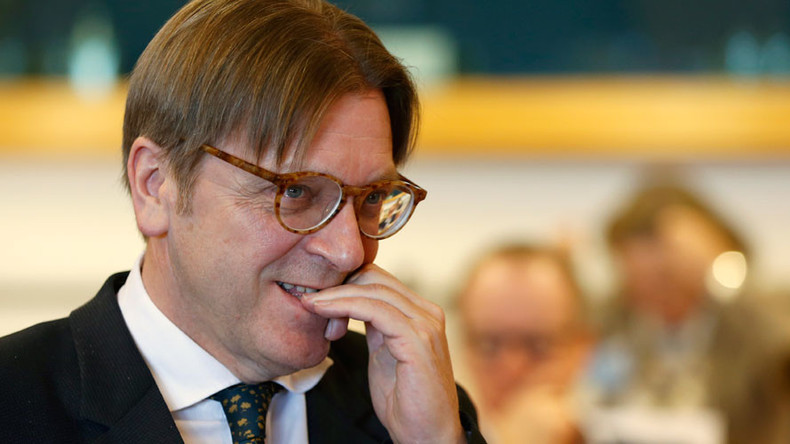 EU's chief Brexit negotiator Verhofstadt mocks Tory ministers on Facebook