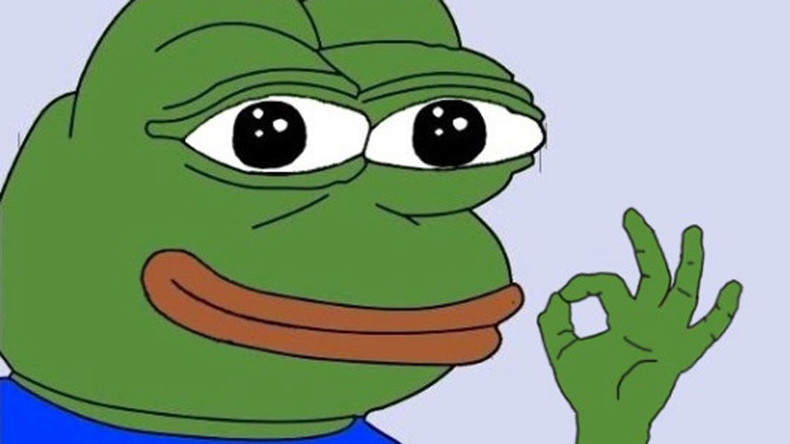'Pepe the Frog' classed as a hate symbol after white supremacists link (IMAGE)