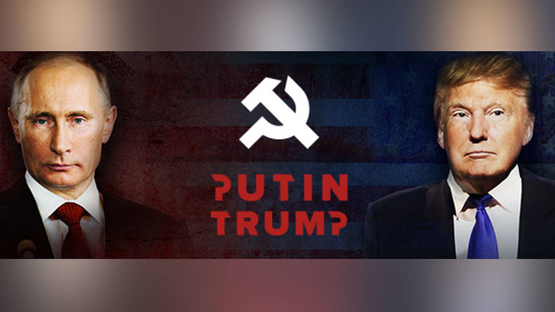 The Soviets are coming! Hammer & Sickle strike again, courtesy of Clinton camp