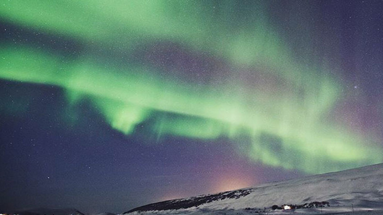 Iceland turns off city lights for spectacular Northern Lights show (PHOTOS, VIDEOS)