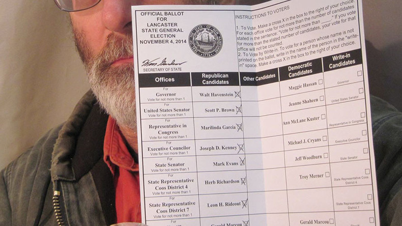 'Ballot selfies' no longer banned in New Hampshire