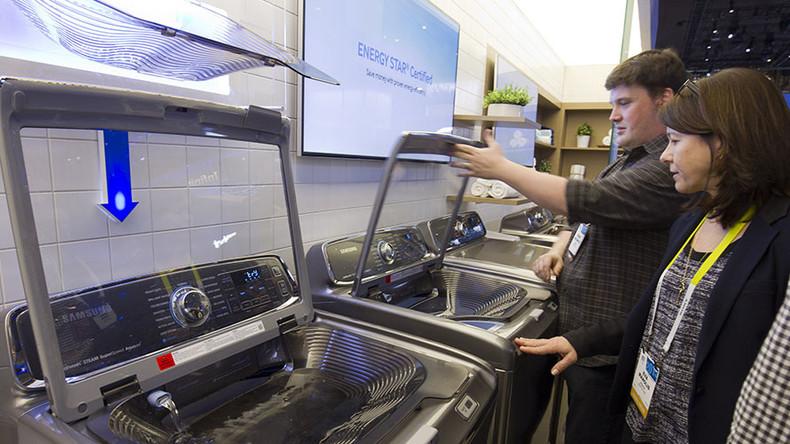 Loaded laundry: Samsung washing machines exploding