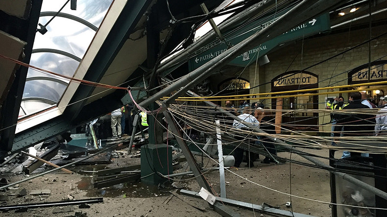 At least 1 dead, up to 108 injured as commuter train smashes into New Jersey station