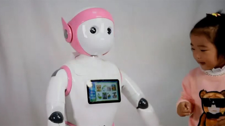 Robo-babysitter? Device can play, talk & monitor children (VIDEO)