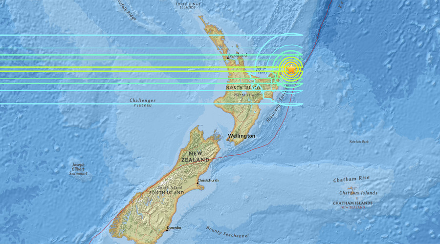 Tsunami warning issued after 7.1 magnitude quake off New Zealand coast