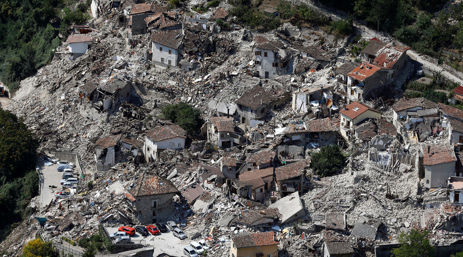 Italy furious after Charlie Hebdo caricature depicts quake victims as pasta & lasagna