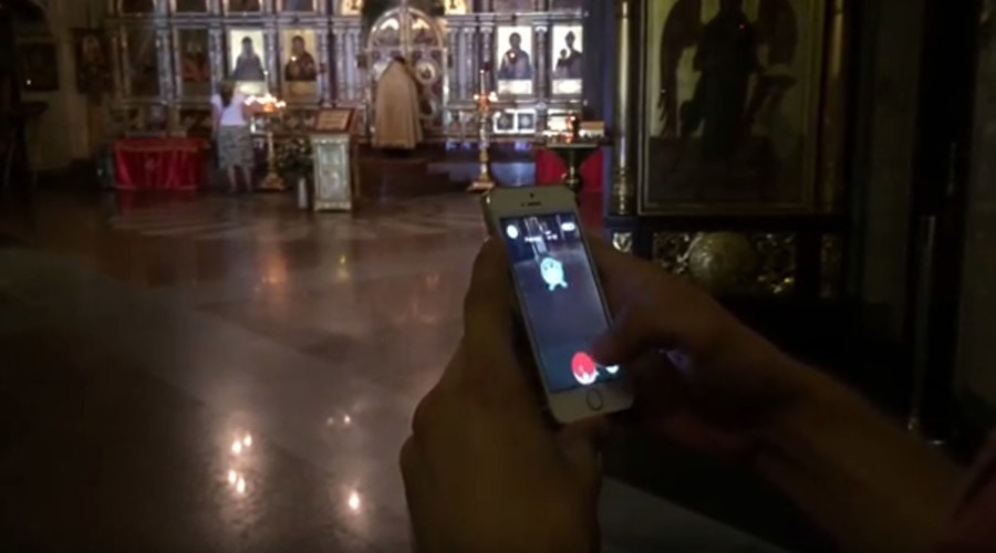 Russian blogger arrested for 2 months for playing Pokémon Go in church