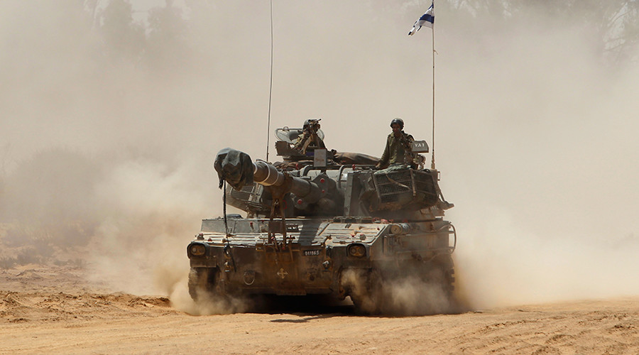 Israel pounds Syrian govt positions in Golan Heights with retaliatory fire