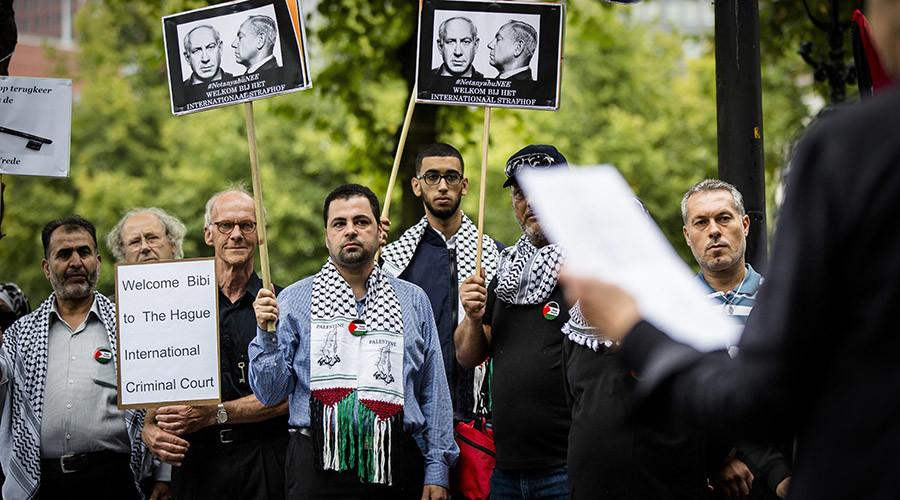 Dutch ex-PM calls visiting Netanyahu 'war criminal' amid anti-Israeli protests in The Hague