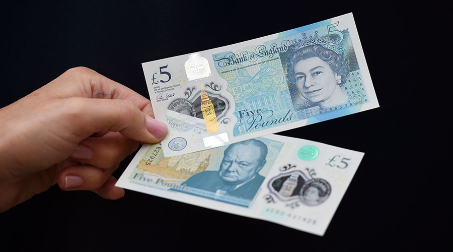 UK issues first plastic banknotes for England and Wales