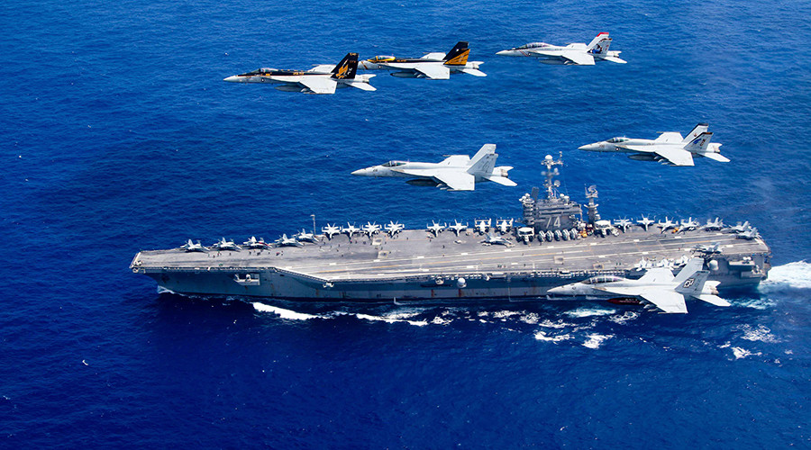 War baby: US Navy sailor abruptly gives birth on aircraft carrier at sea
