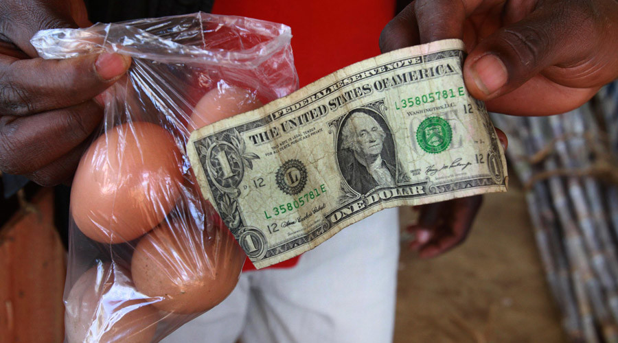 Zimbabwe to print own version of US dollar bill