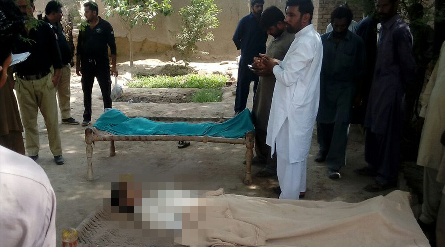 Pakistani mother tortured & hanged from tree in 'honor killing'