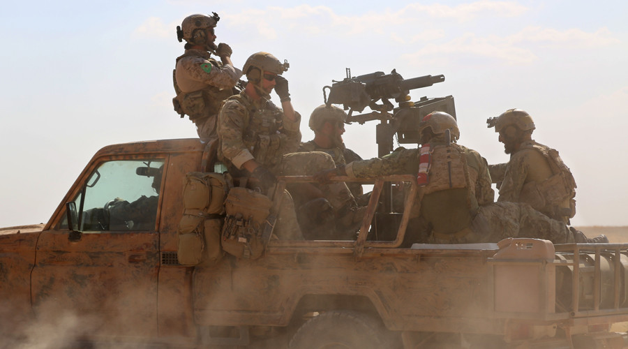 'Crusaders! Infidels! Dogs! Get out!' US-backed rebels force US commandos to leave Syrian town