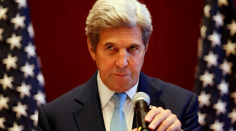 'We regret strike on Syrian Army, but Assad still bombs indiscriminately' – Kerry