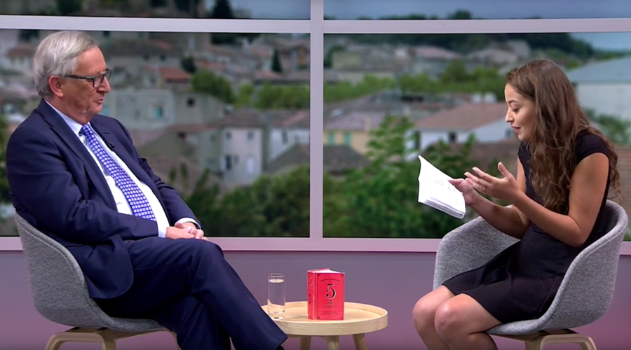 French blogger lashes out at YouTube for trying to 'censor' her interview with Juncker