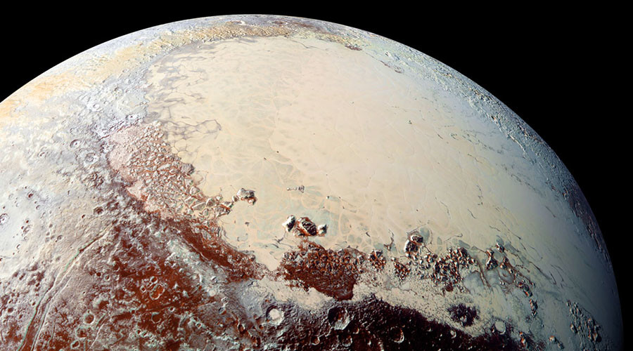 Scientists reveal how Pluto got its mysterious love heart