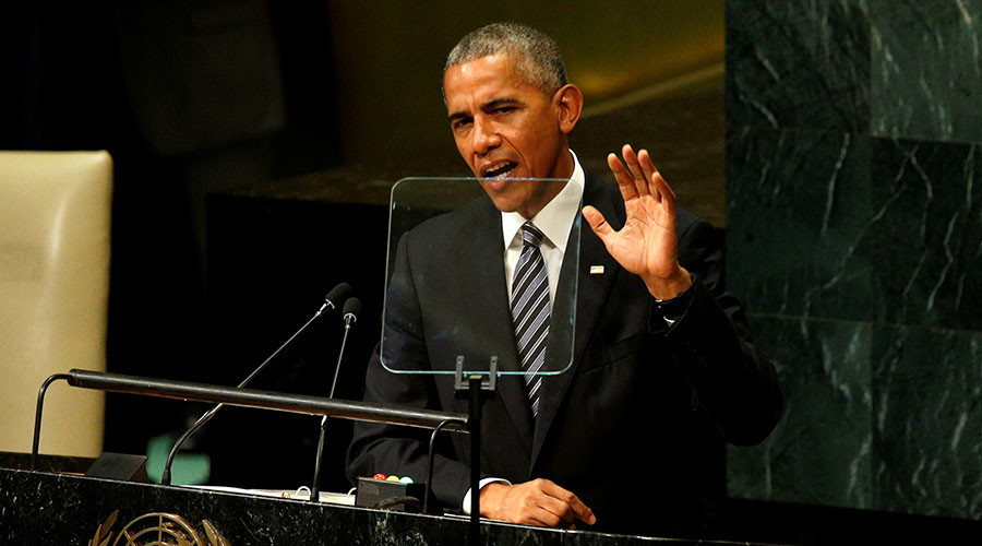Russia uses force to 'recover lost glory', says Obama