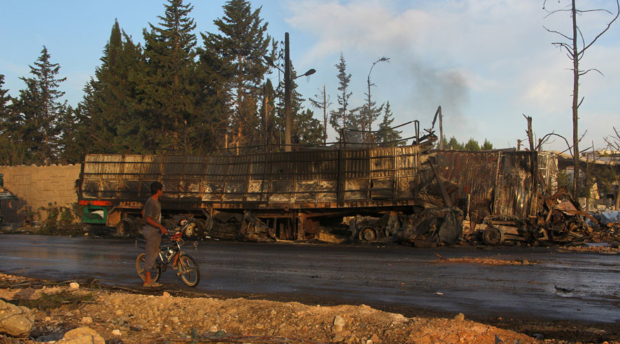 'Claims of Russian airstrike on Syrian aid convoy comes at convenient time for US'