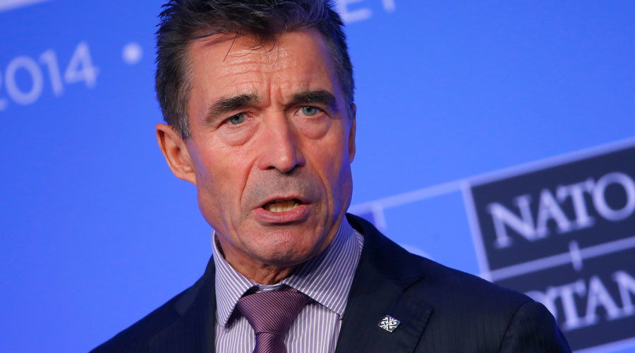 Former NATO chief Rasmussen wants US 'to police the world'