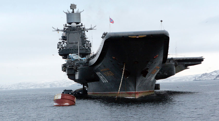 Russia to send aircraft carrier Admiral Kuznetsov to Mediterranean