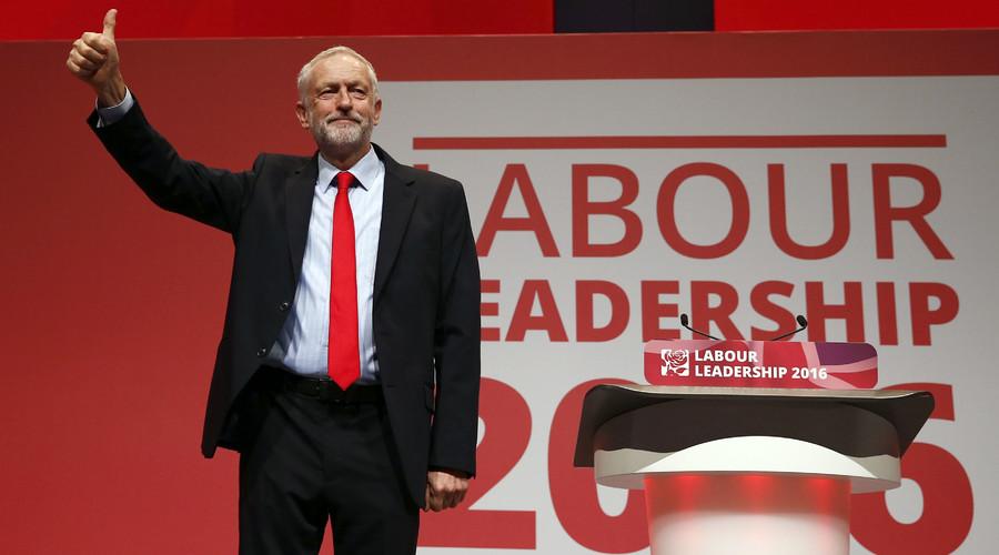 Jeremy Corbyn re-elected Labour leader in landslide win
