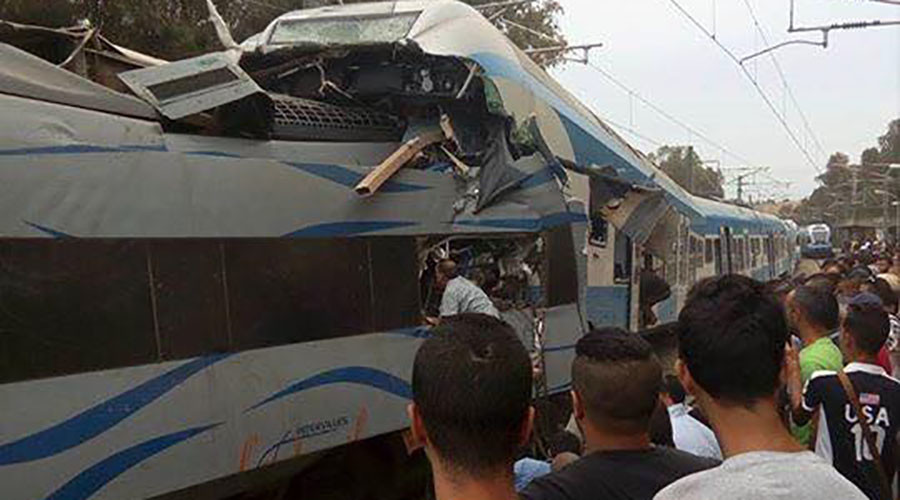 Trains collide in Algeria, multiple casualties reported (PHOTOS, VIDEO)