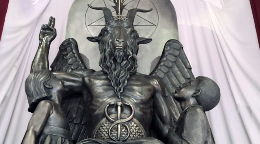 Here's a glimpse inside Satanic Temple's new headquarters in Salem (VIDEO)
