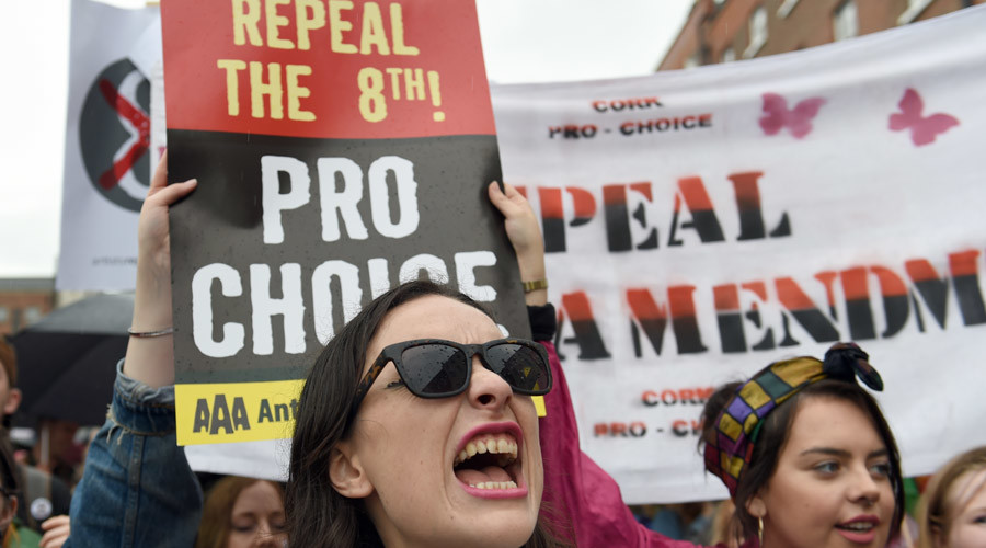 1,000s of pro-life activists take to the streets of Dublin (PHOTOS)