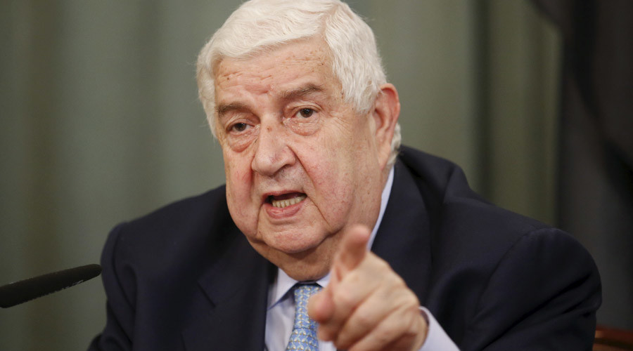 Syrian FM at UN: Bombing of Syrian troops no mistake, US is ISIS accomplice