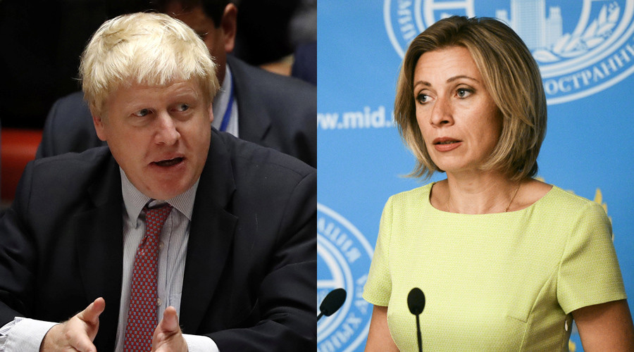 'Correct, but say Britain and Iraq': Zakharova on UK slamming Moscow for 'protracting' Syria war