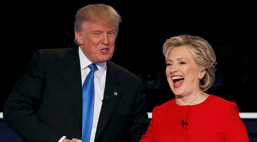 Who's fit to police the world? Trump, Clinton clash on temperament