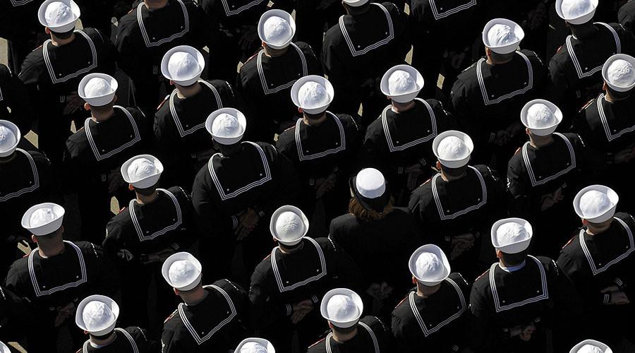 Second Navy sailor disciplined for anthem protest
