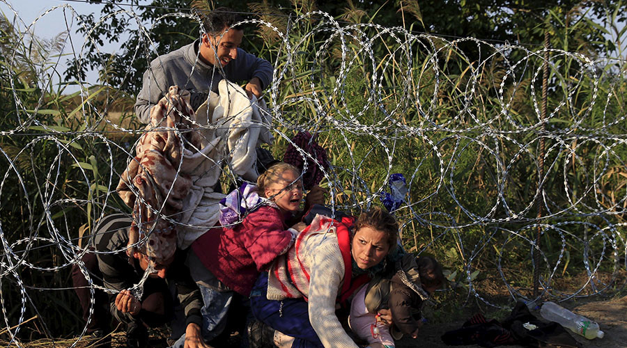 Hungary 'militarized borders' to deter refugees, says Amnesty ahead of crucial vote on quotas