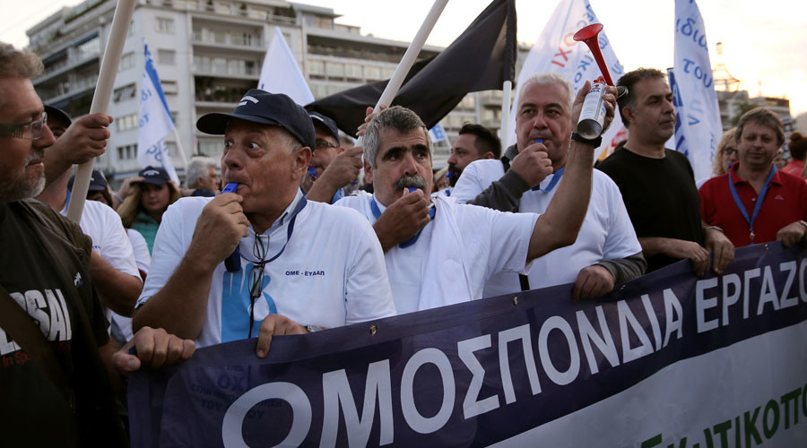 Athens passes new austerity measures to get rescue loans from EU