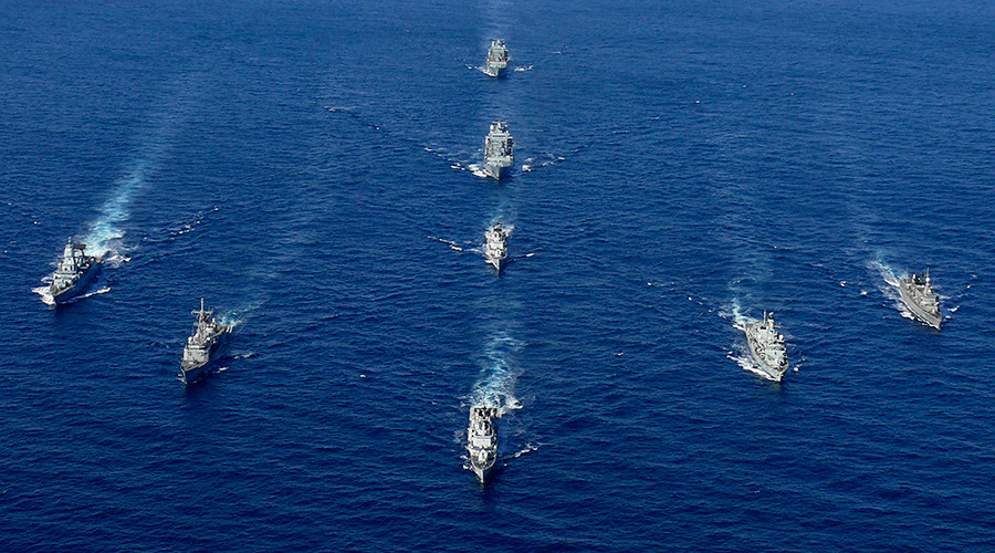 Iran & Italy hold joint drills in strategic Strait of Hormuz, despite recent US military incidents