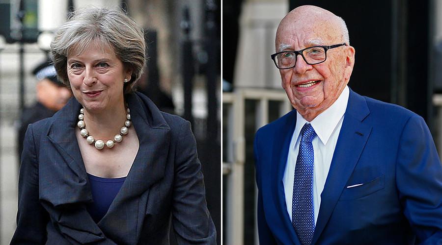 UK PM Theresa May met 'kingmaker' Rupert Murdoch on UN visit