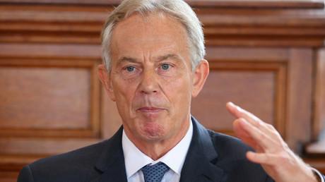 Former British prime minister Tony Blair © Brian Lawless