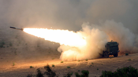 FILE PHOTO: The High Mobility Artillery Rocket System (HIMARS). © Seth Maggard / USMC