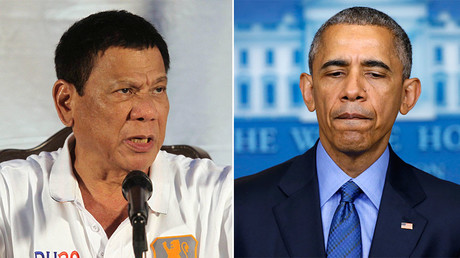 Philippines leader calls Obama 'son of a b****,' rejects lecturing from US on human rights