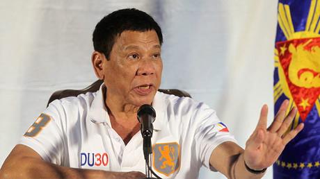 Philippine President Rodrigo Duterte. ©Lean Daval Jr