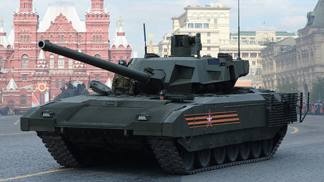 A T-14 tank on the Armata tracked platform. ©Iliya Pitalev