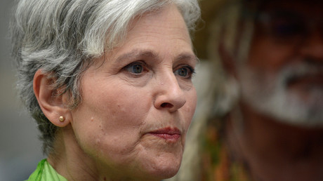 Green Party Presidential Candidate Jill Stein © Bryan Woolston